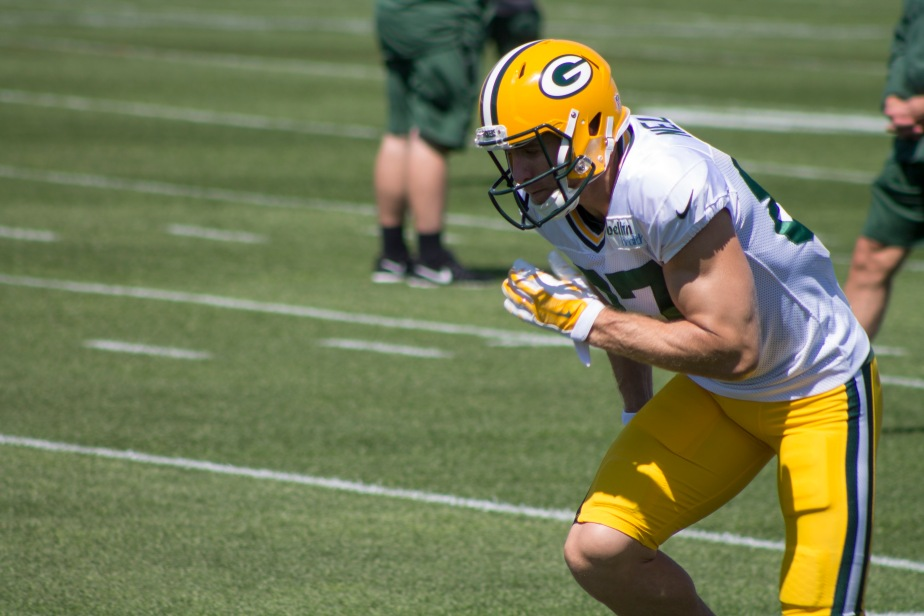 Jordy Nelson Returns to Packers Camp – Aug 22