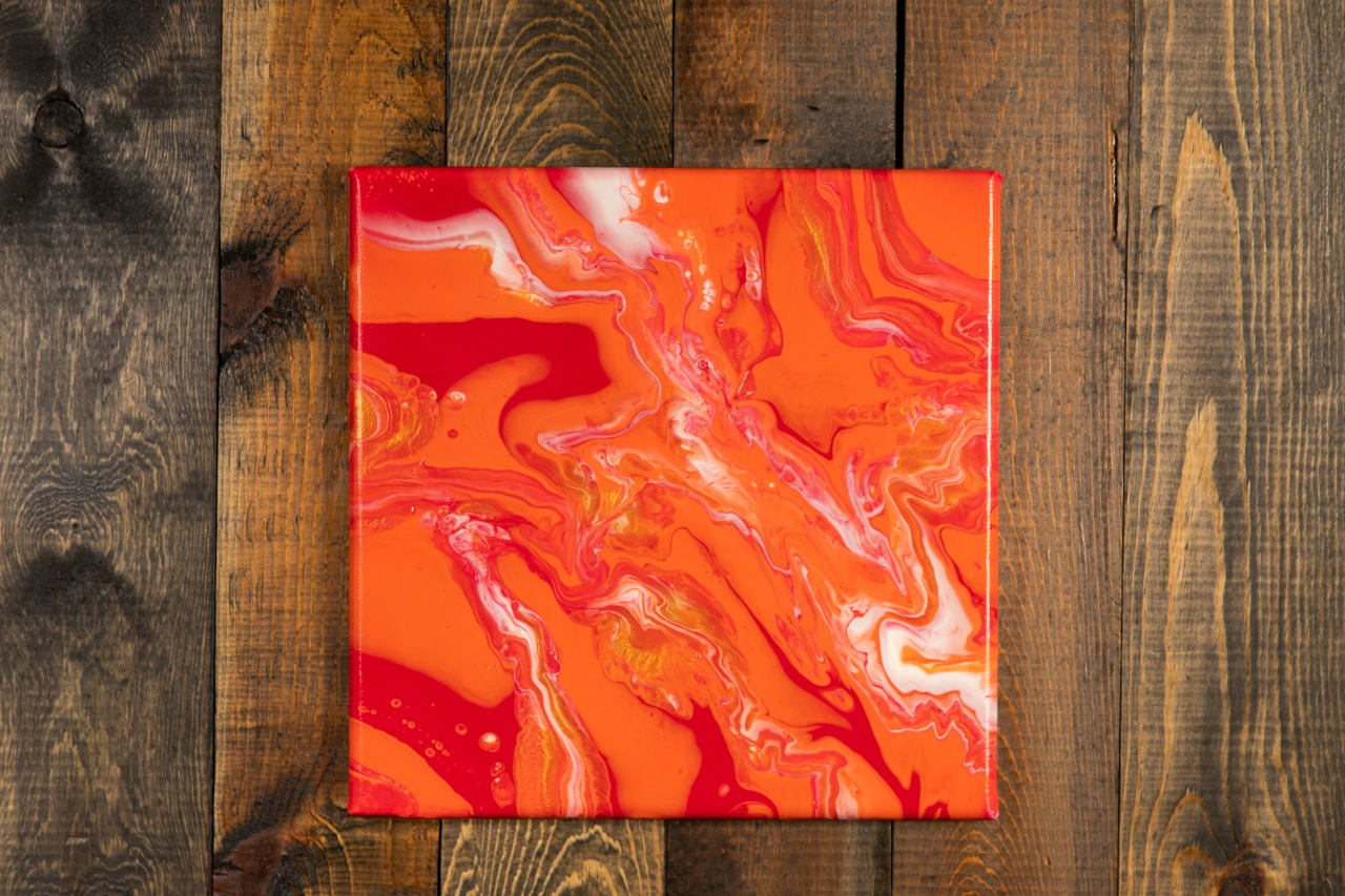 Acrylic Pour Paintings For Sale!