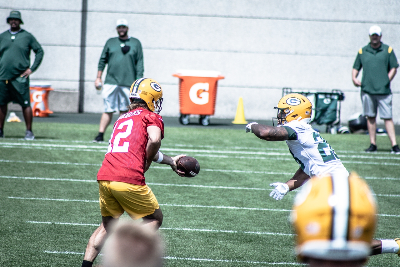 Another morning at Packers TrainingCamp